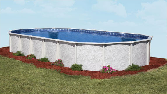 doughboy oval pool installation instructions