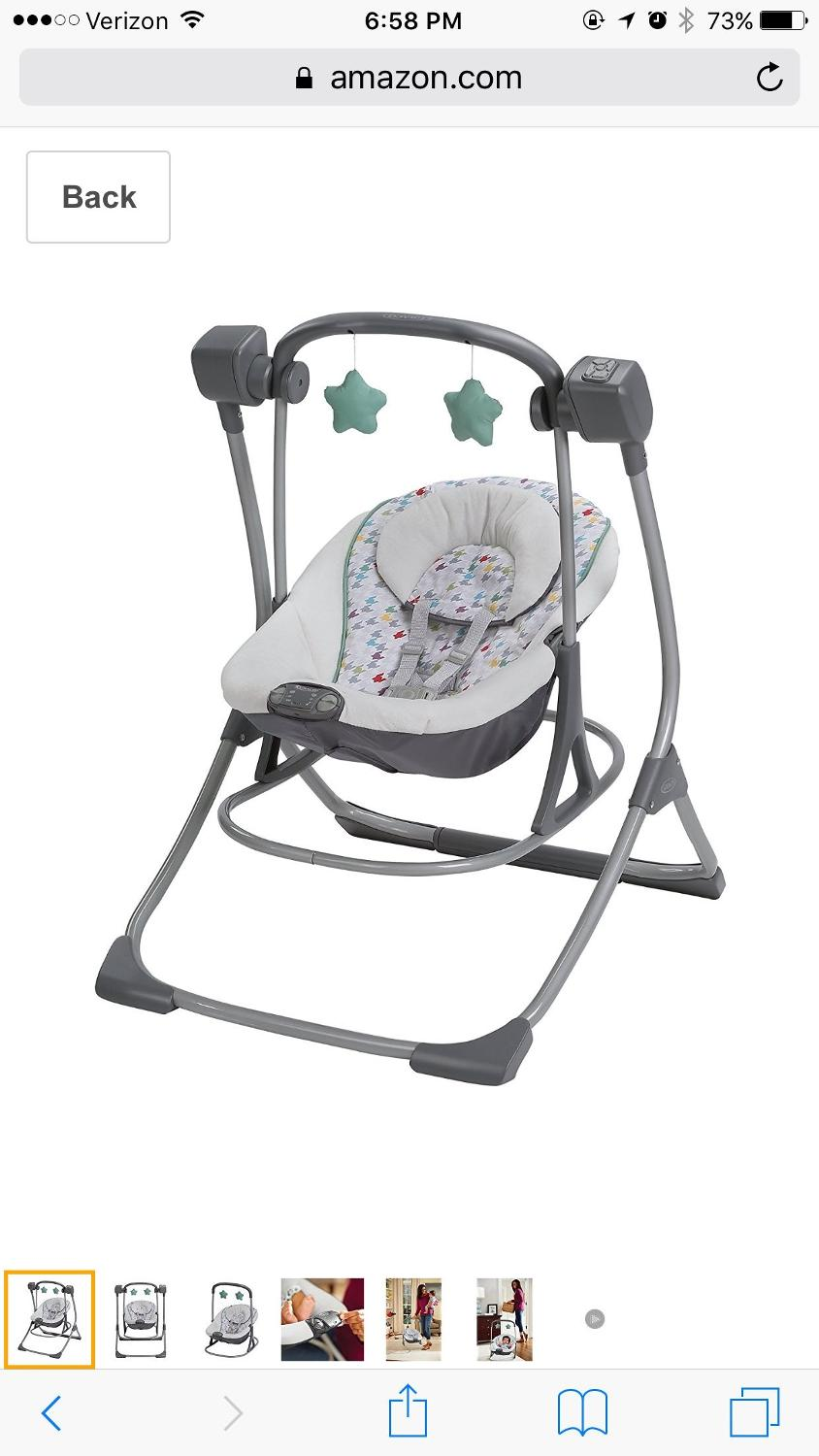 graco bouncer swing instructions