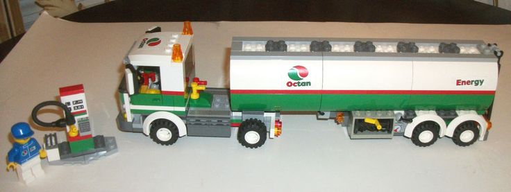 lego octan tanker 3180 instructions