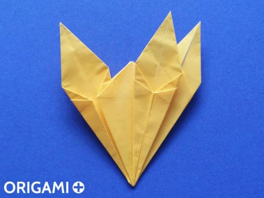 origami giraffe head instructions