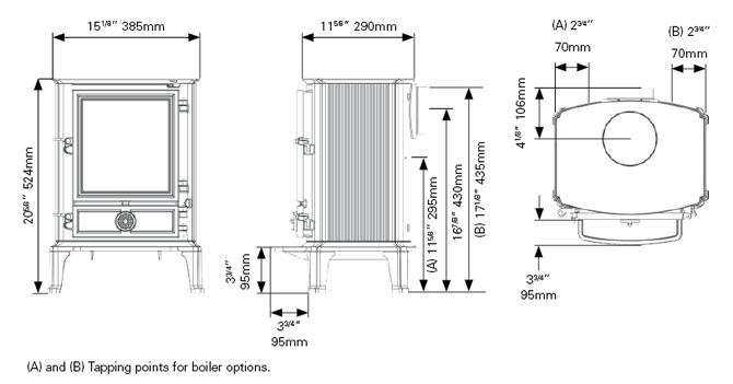 stovax brunel 2cb instructions
