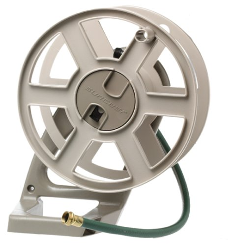 suncast sidetracker wall mount hose reel instructions