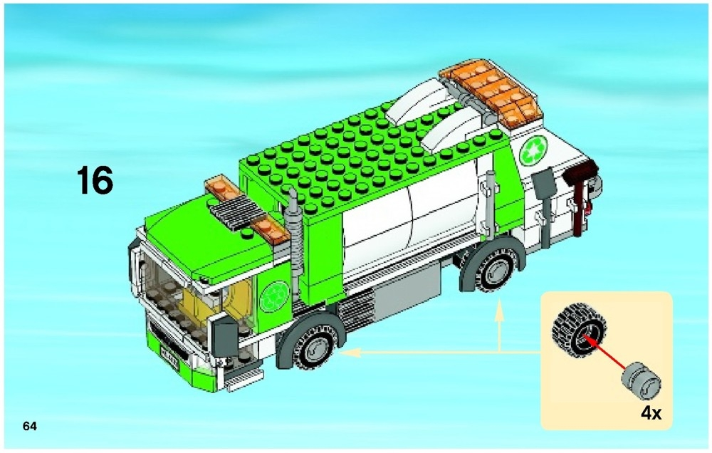 lego garbage truck instructions pdf