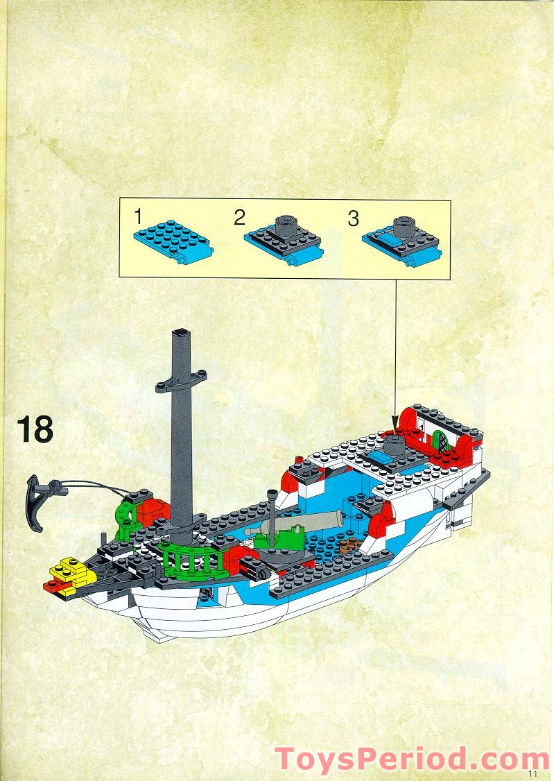 lego 6243 instructions pdf