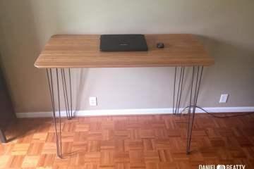 malm computer desk instructions