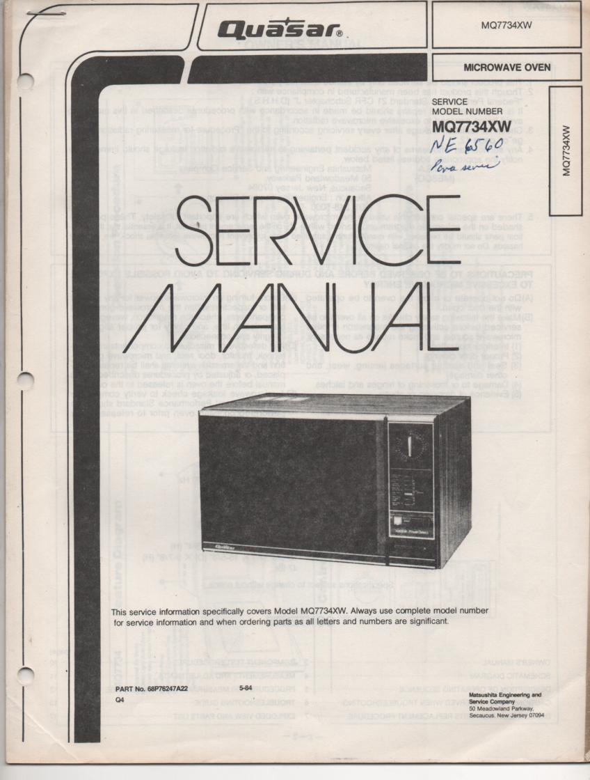 manual or instructions oven 010381