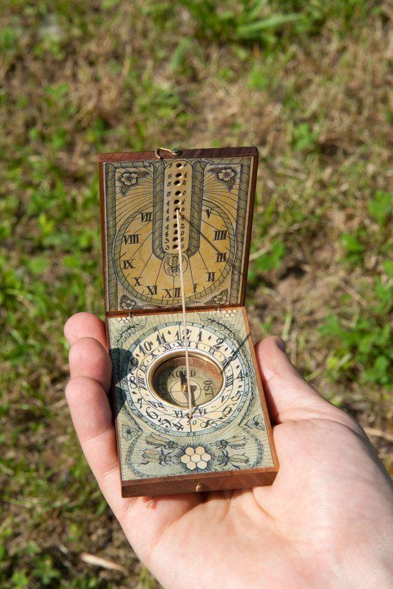 pocket sundial compass instructions