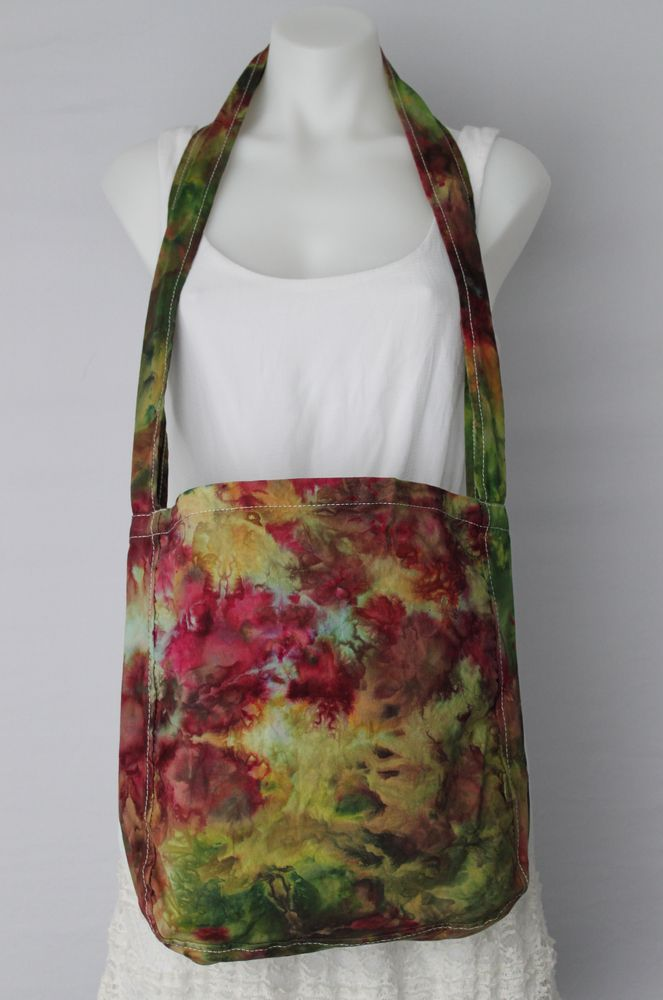 tie dye instructions for a bag