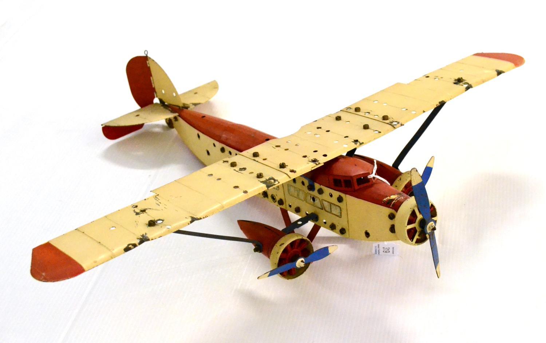meccano aeroplane constructor instructions