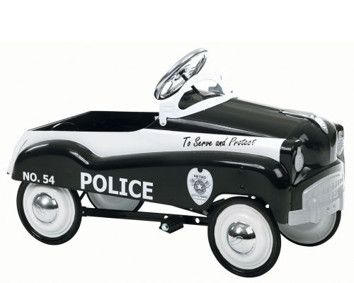 instep police pedal car instructions