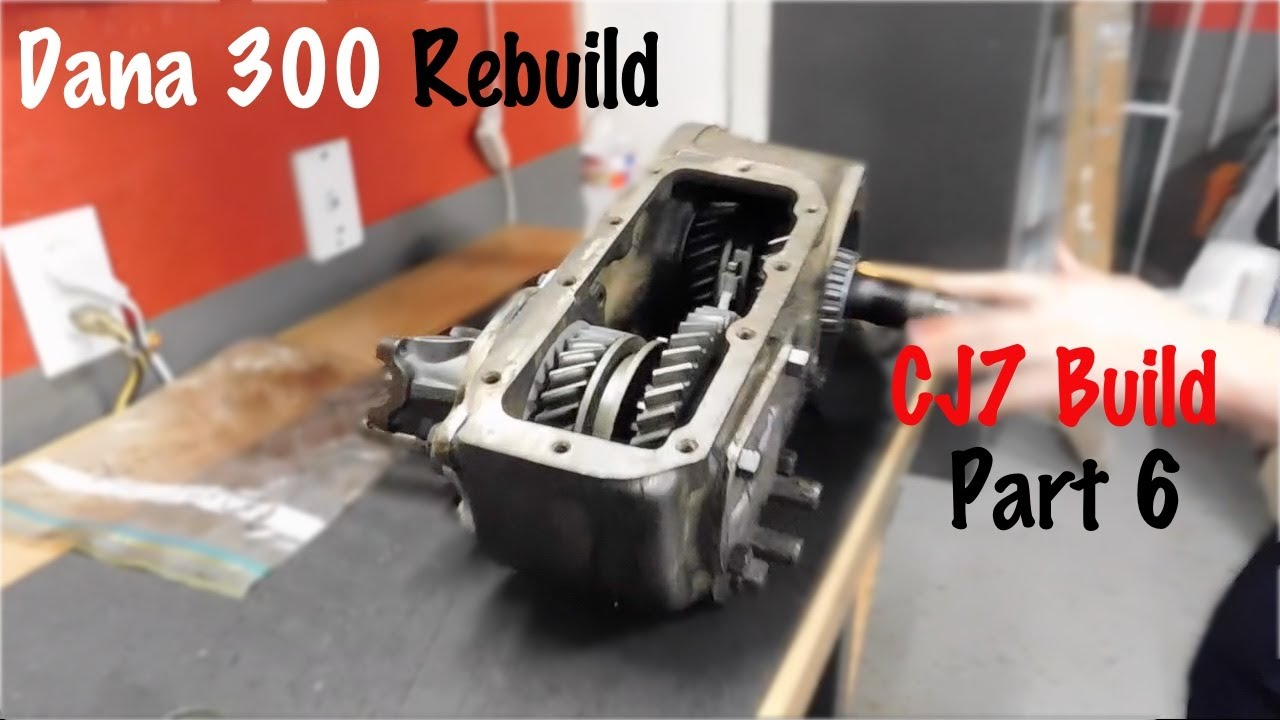 dana 300 rebuild instructions