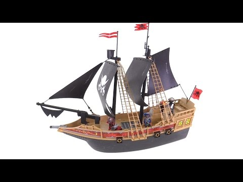 playmobil pirate ship instructions 6678