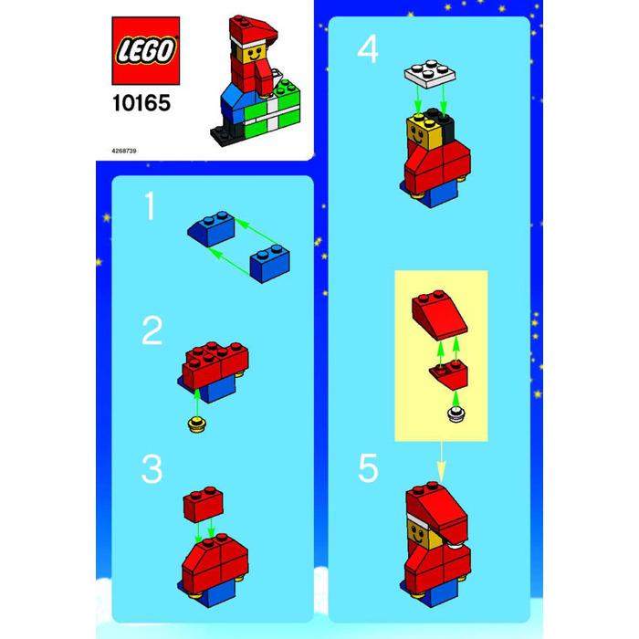 lego xmas set elf instructions