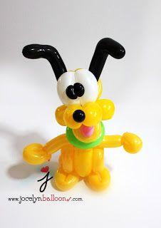 balloon sculpting instructions dog