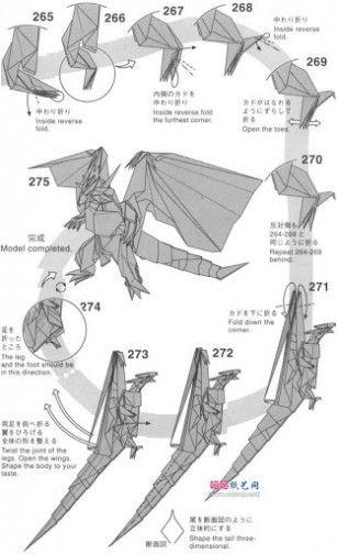 simple origami hummingbird instructions
