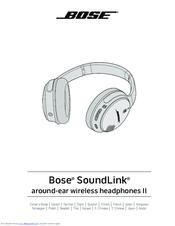 bose soundlink headphone instructions