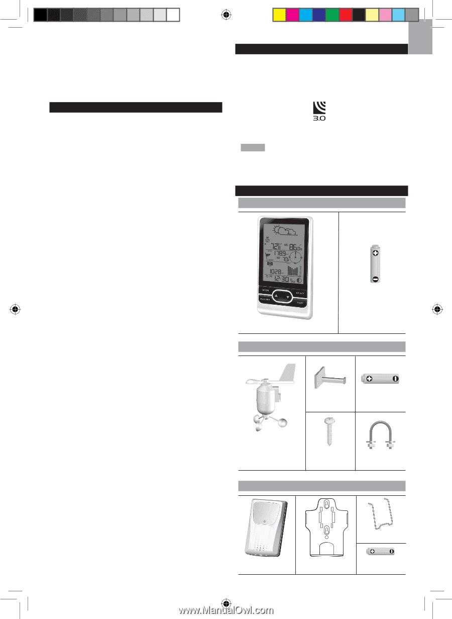 oregon scientific wmr86 instructions