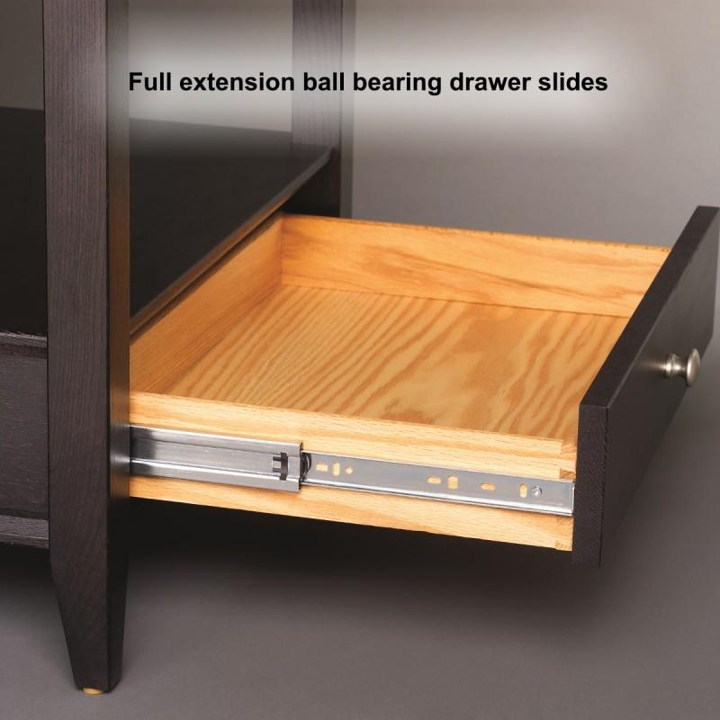 full extension drawer slides instructions
