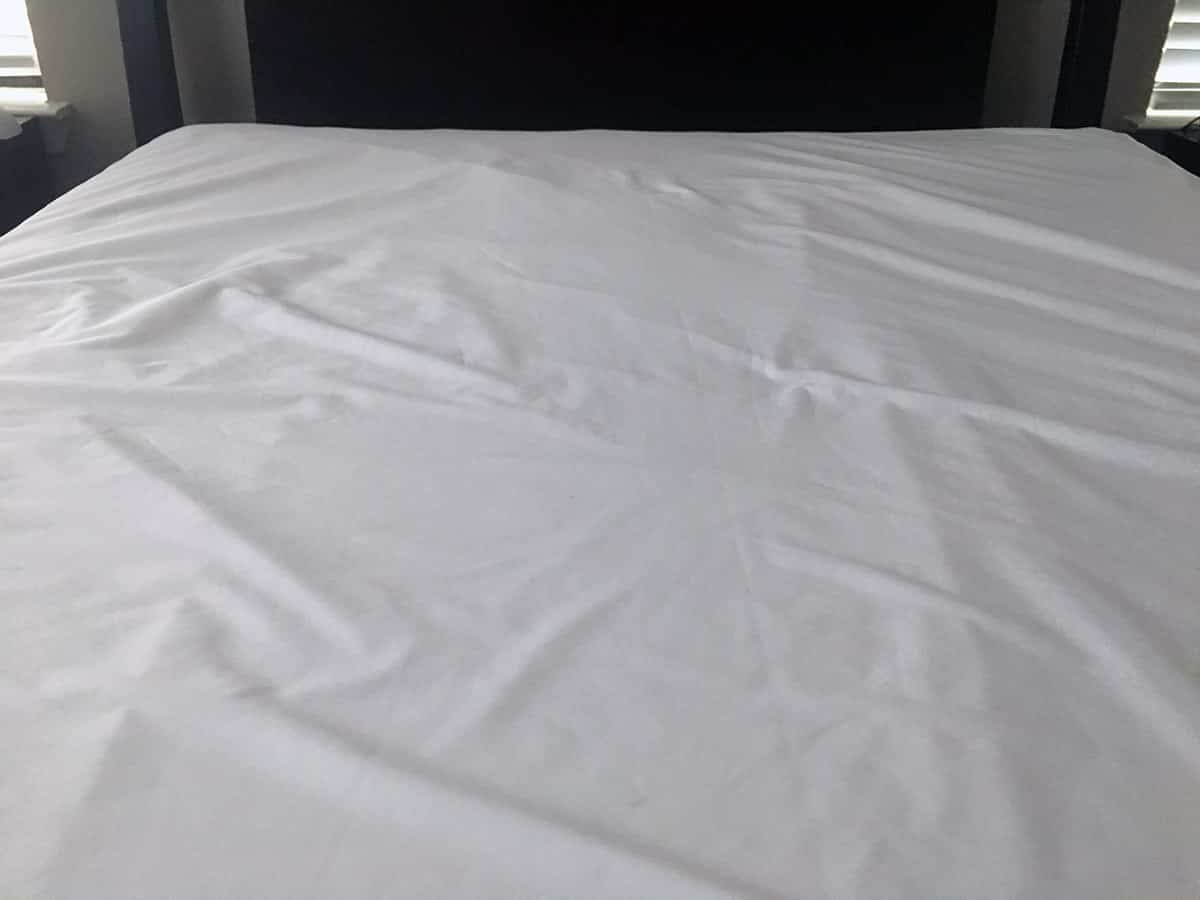 allerease mattress protector washing instructions