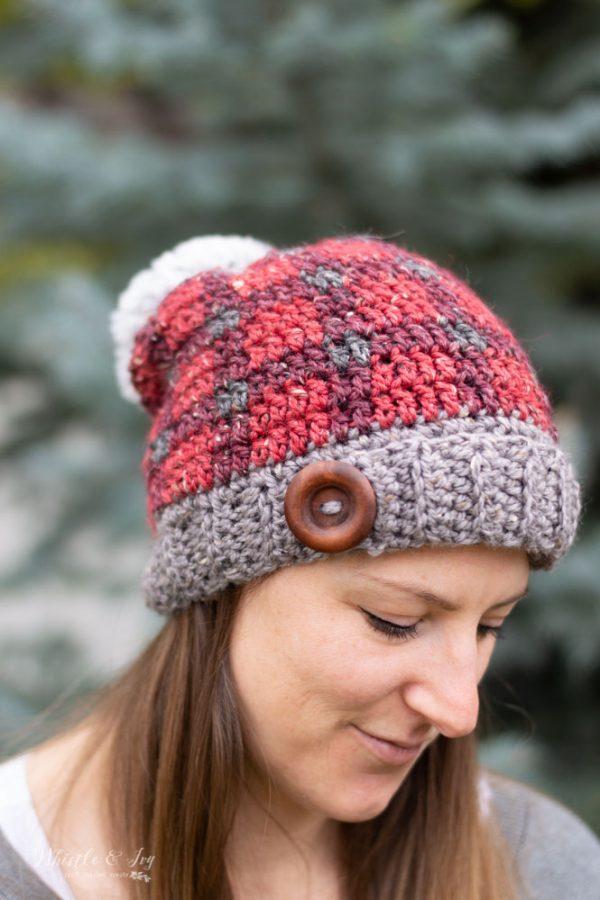 yarn hat ornament instructions
