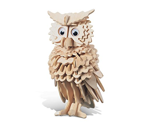 original 3d crystal puzzle owl instructions