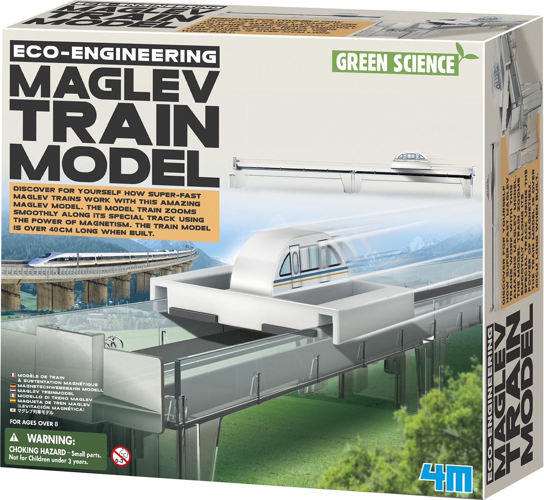 maglev train model instructions