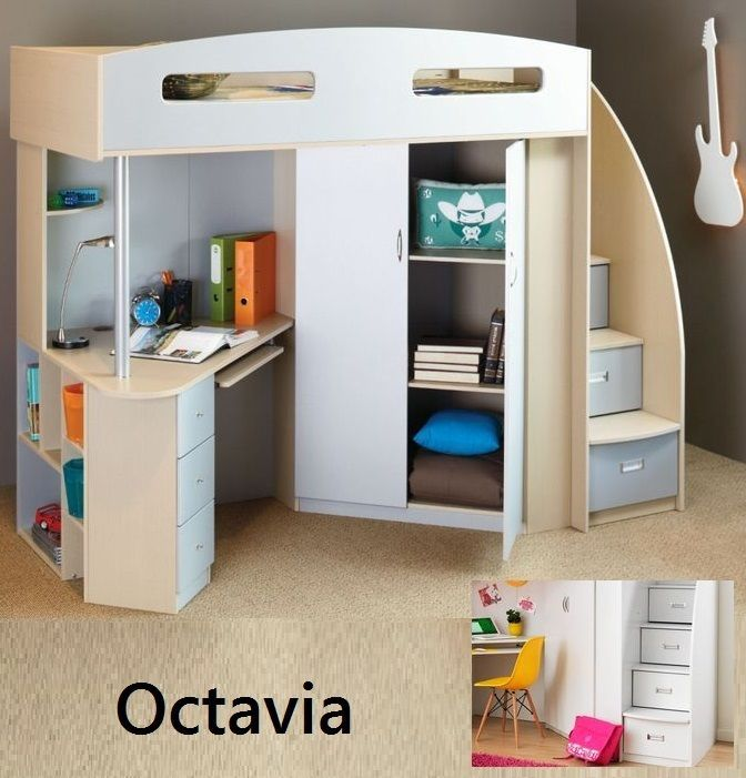 odyssey space saver loft bed pe5002 instructions