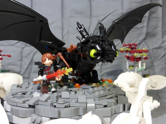 lego toothless dragon moc instructions