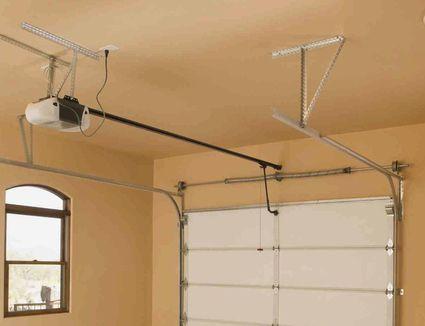 craftsman garage door opener install instructions