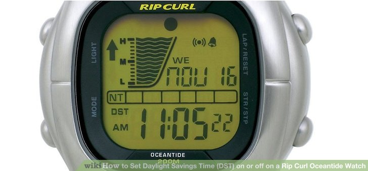 rip curl search watch instructions