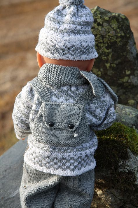 simple knitting instructions with illustrations for a young child