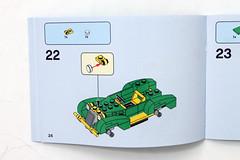 lego superman brickheadz instructions