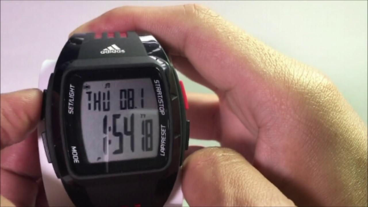 adidas watch instructions adp6005