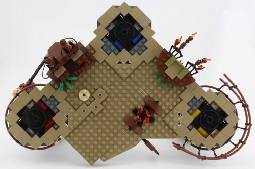 ewok village lego set instructions