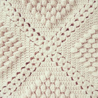 afghan crochet instructions cushion cover
