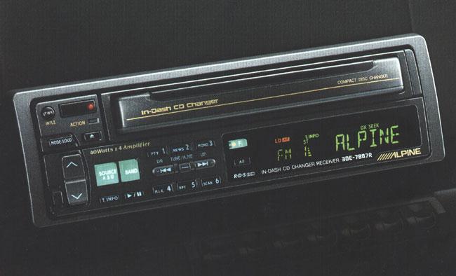 alpine cd player instructions