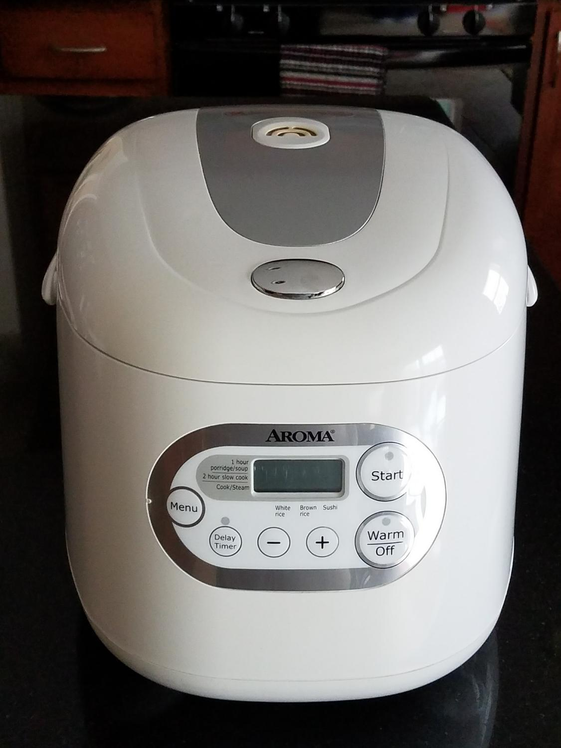 aroma 20 cup rice cooker instructions