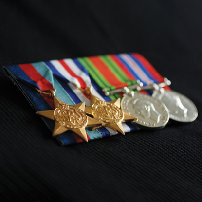 asod court mounting medals instructions