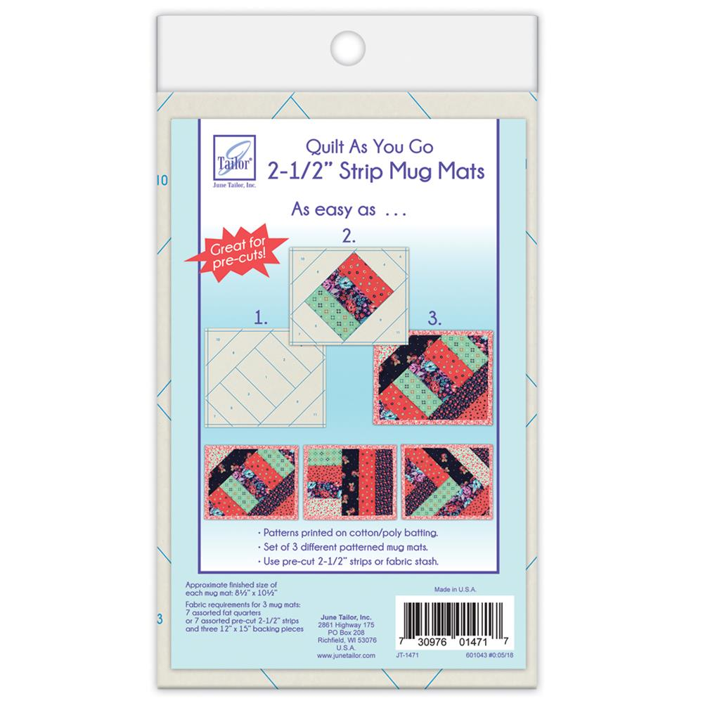 strip quilt as you go instructions
