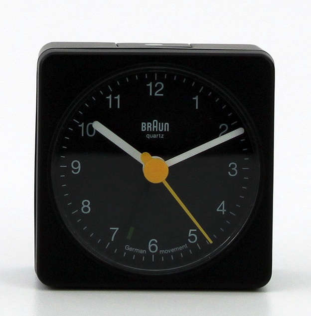 braun travel clock instructions