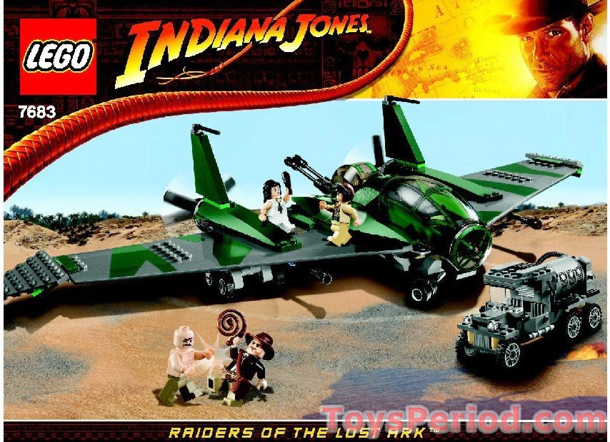 lego indiana jones gangster car instruction