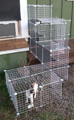 catnets portable enclosures instructions