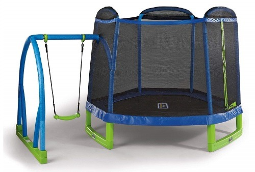 sportspower my first trampoline with enclosure assembly instructions
