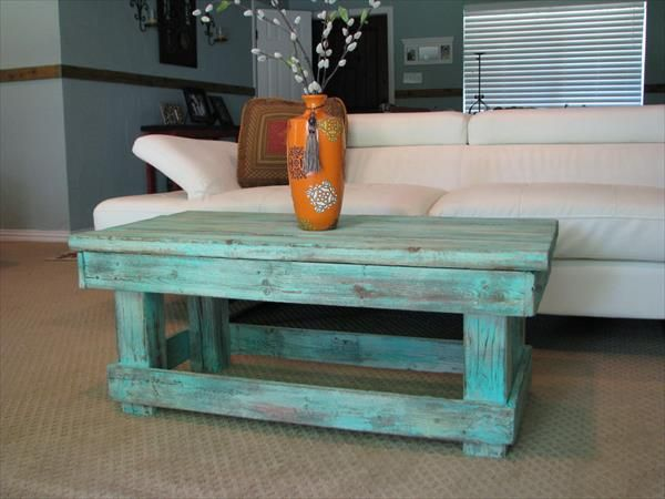 simple pallet furniture instructions