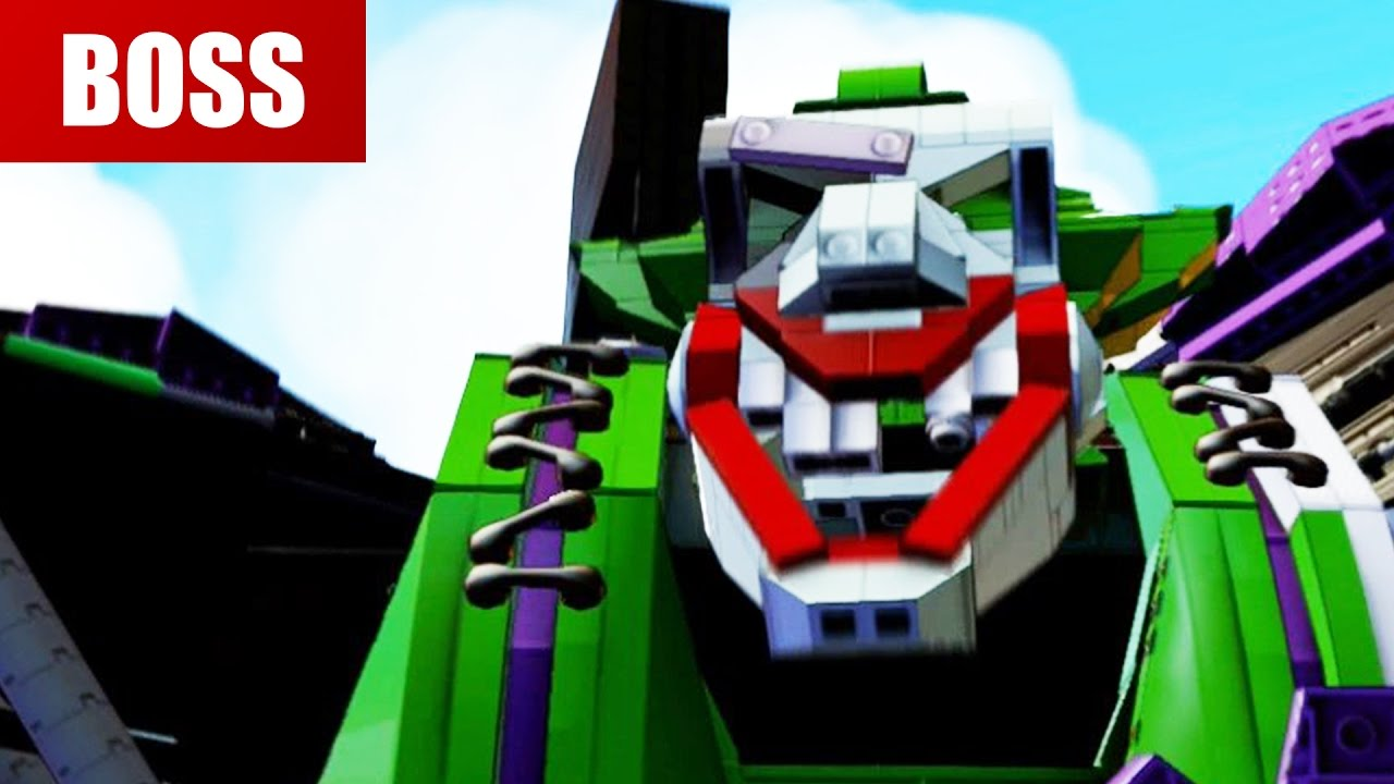 lego batman joker robot instructions