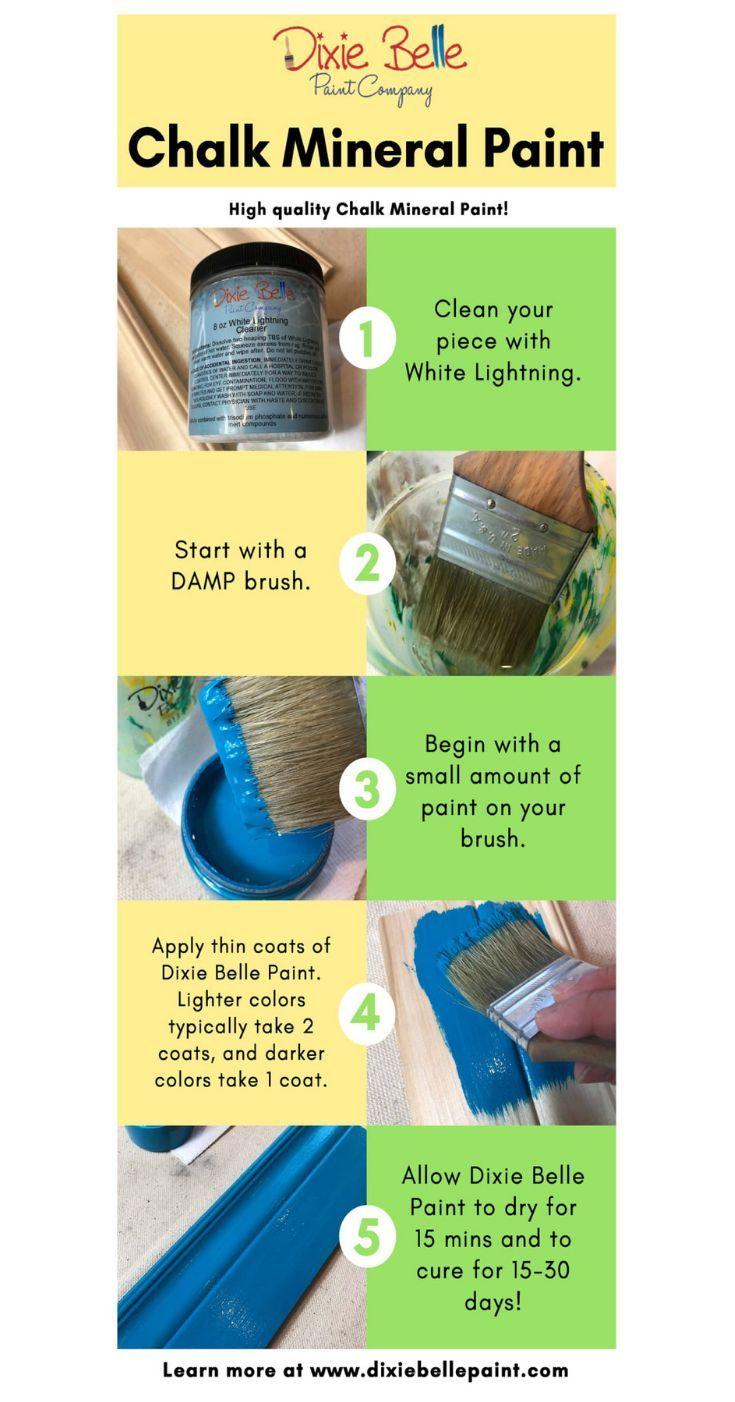 dixie belle glaze instructions