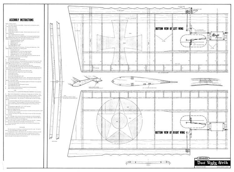 das ugly stick build instructions