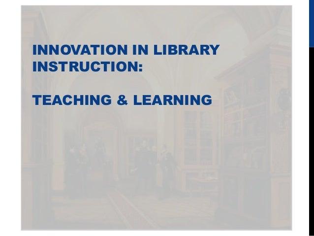 information literacy instruction listserv