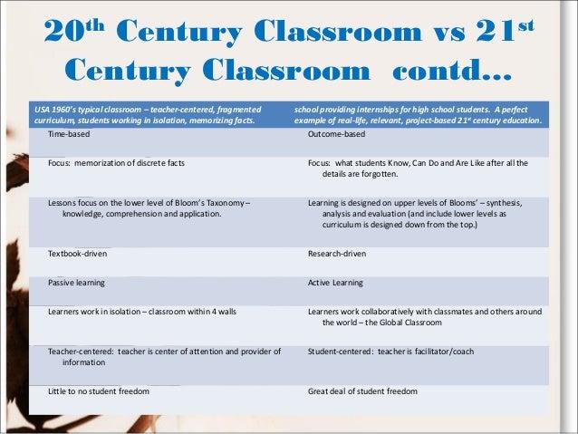 direct instruction vs student centered
