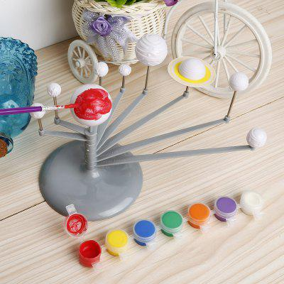 discovery kids solar system model instructions